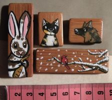 Magnets for sale + commission by ysyra