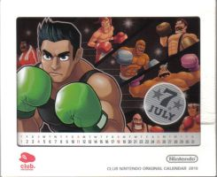 Ninten Calendar - July by RUinc
