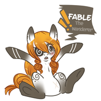 Fable the Wanderer by Chocopepper