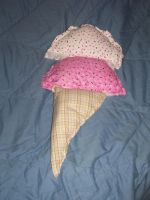Ice Cream Cone pillow by catluvr2