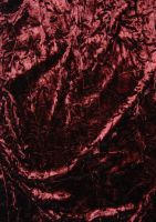 burgandy crushed velvet by objekt-stock