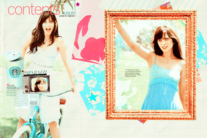 zooey deschanel by ANGOOY