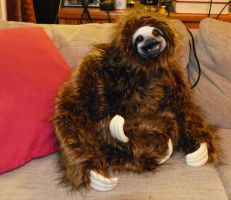 Sloth puppet is complete by miasansom