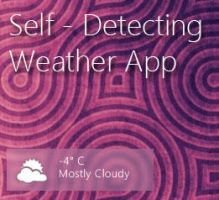 Self-Detecting Weather for Rainmeter by kop4