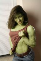She Hulk Brown Top by shehulk54675467