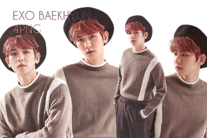 EXO Baekhyun PNG Pack {Season Greetings 2017} by kamjong-kai
