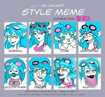 Different Style meme:silver by Silver-the-kid