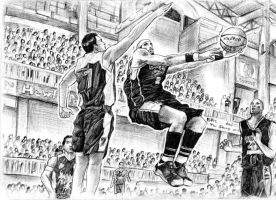The Basketball Game by ge12ald