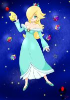 Rosalina and Luma by MrRagamuffin
