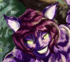 Cheshire Cate Close up by imagesbyalex