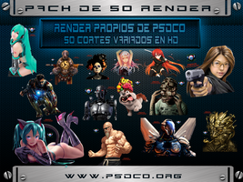 Pack 50 Render PSDCO by Onbush