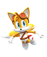 Sonic Boom: New Tails Render by NIBROCrock