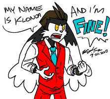 MY NAME IS KLONOA AND I'M FINE by kd99