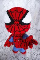 Spiderman Sackboy by LucreziaNatas