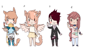 Adopts.Batch.4 OPEN by PaopuDestinies
