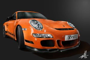 Porsche GT3 RS gift by BnW-JACK