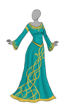 Celtic Dress Adoptable SOLD by Captain-Savvy