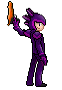 Pokemon Trainer Style Terraria by Riotpopperlord