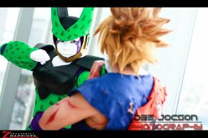GOKU VS CELL 2 by maiabest9381