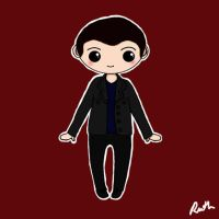 Ninth Doctor Chibi by RawrRufus