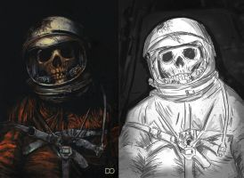 Death in Space by Nathican