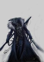 Undead Ice Mage by Gobboking