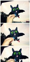 Toothless Chibi Plush... thingy~! by heeyjayp17