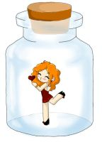 Love Potion in a Bottle: Adoptable! 20 Points! by Queen-Of-Cute