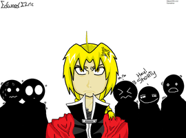 Edward Elric...Don't Call Him Short by RayyRayy101
