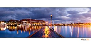 Hillarys Boat Harbour Pano by Furiousxr
