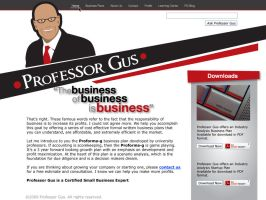 Professor website by montgomeryq