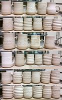 Greenware cups 03232015 by skimlines