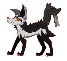 mightyena and poochyena by jaydenfgt