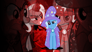 Wallpaper - The Great and Evil Trixie by Rainz05