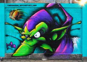 Green Goblin by thekumkum