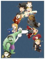 'A' is for Avengers by Saturn-Kitty