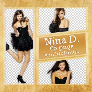 Pack png 158 - Nina Dobrev by worldofpngs