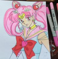 Sailor Chibi Moon by Catkuro