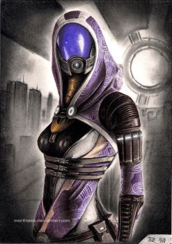 Tali Zorah by Morthiasik