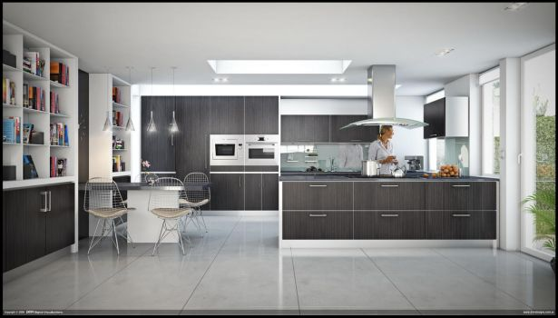 D Kitchen by diegoreales