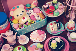 korilakkuma and sweets by cyristine