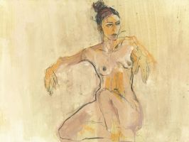 Homage to Schiele XXVIII by uterathmann