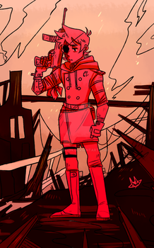 Red Leader by delphyxion