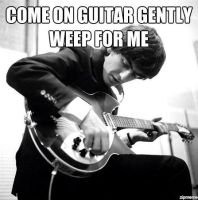 come on guitar gently weep for me by whisper1236
