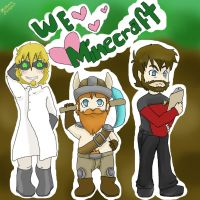 Yogscast love mincraft by 8bitFemale