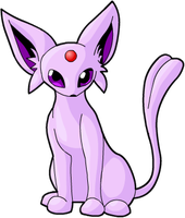 Espeon by Mewitti