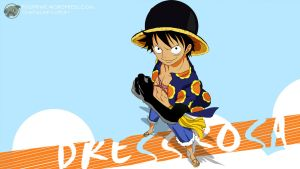 One Piece 1 Dressrosa (Luffy) - 1280x720 by PugPrime