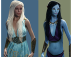 Khaleesi... Has an Avatar by DrowElfMorwen