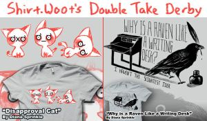Vote For my Shirts Again by amegoddess