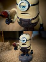 Kevin The Wooden Minion by back2root